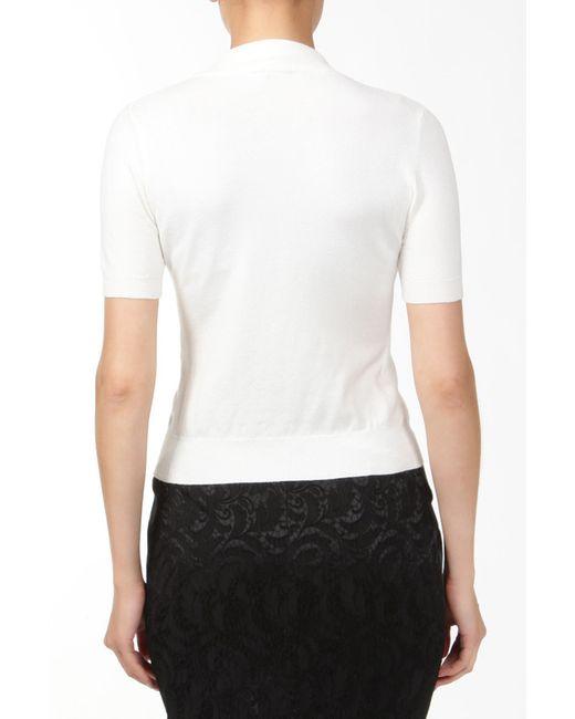Джемпер Elisa Fanti                                                                                                              белый цвет