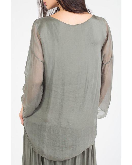 Блуза Amado Barcelona                                                                                                              зелёный цвет