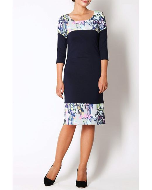 Платье Симона Spicery                                                                                                              синий цвет