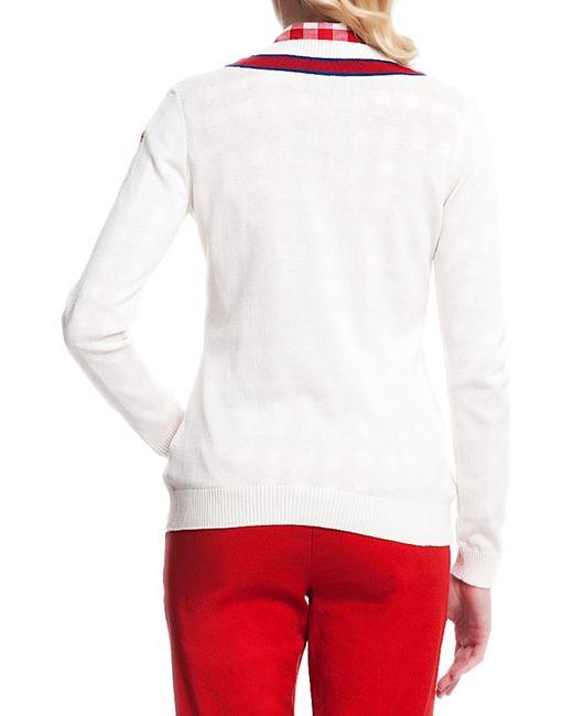 Кардиган U.S. Polo Assn.                                                                                                              белый цвет