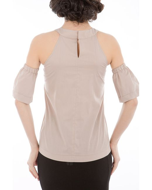 Блузка Tsurpal                                                                                                              бежевый цвет