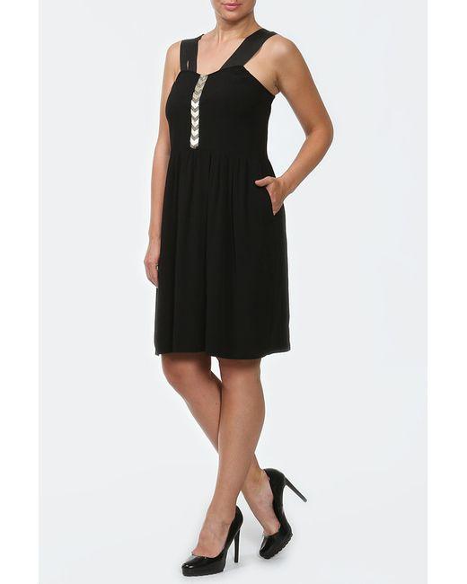 Платье Sandro                                                                                                              чёрный цвет