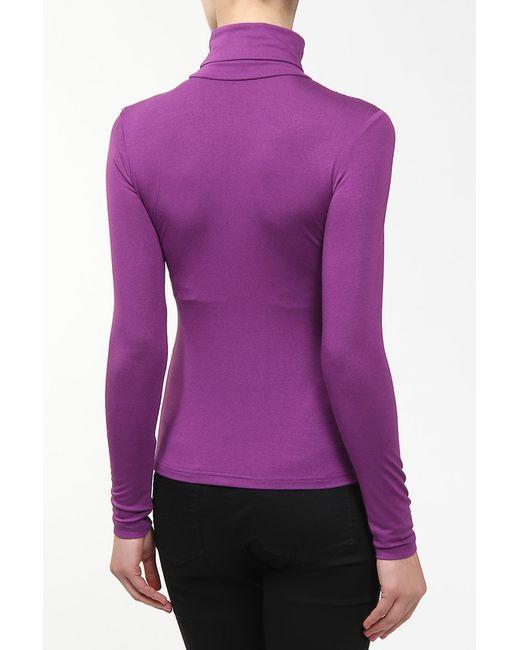 Джемпер M&L Collection                                                                                                              фиолетовый цвет