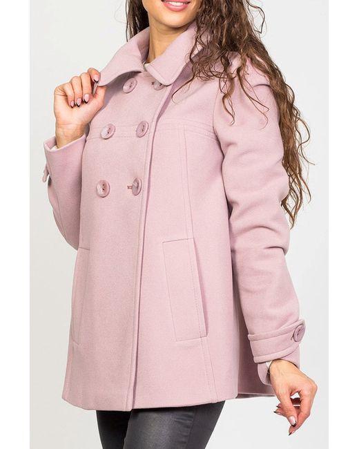 Пальто Stella Di Mare                                                                                                              розовый цвет