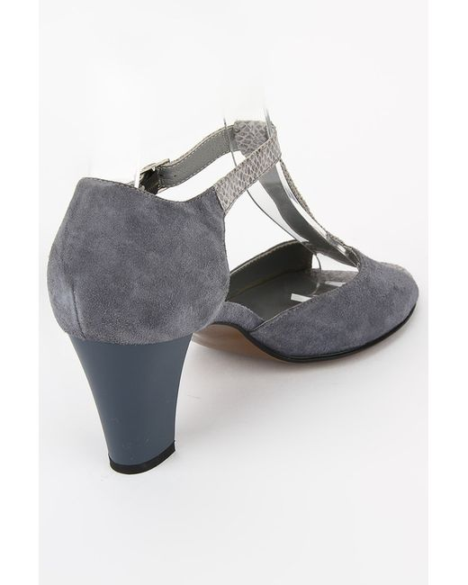 Туфли Atwa Collection                                                                                                              серый цвет