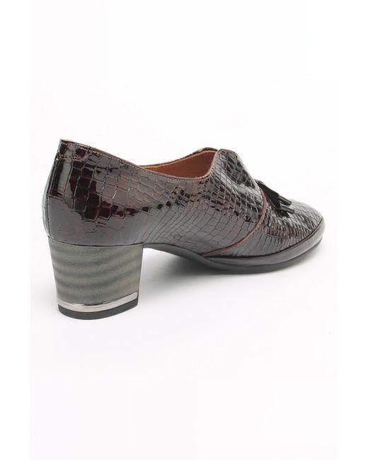 Туфли SM SHOESMARKET                                                                                                              коричневый цвет