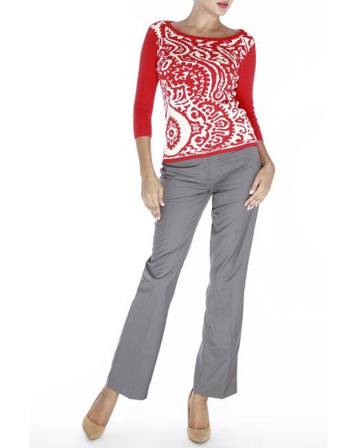 Джемпер Vis-a-Vis                                                                                                              красный цвет