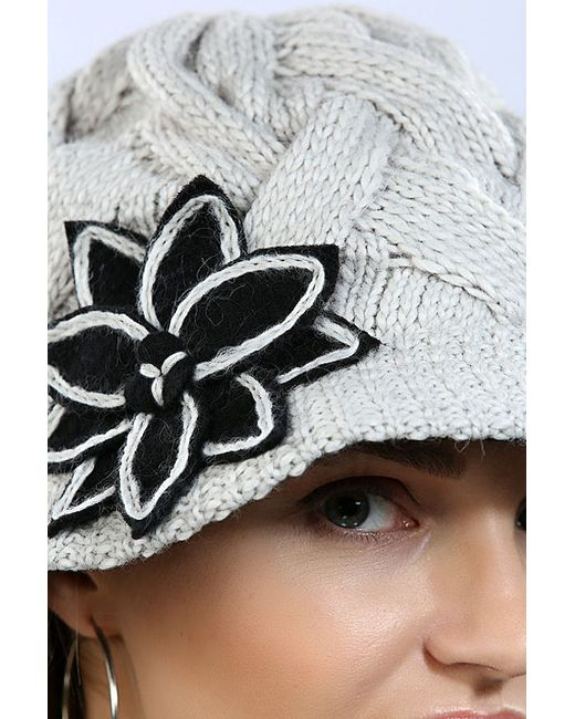 Шляпка Loricci                                                                                                              серый цвет