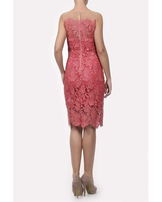 Платье Marchesa Notte                                                                                                              красный цвет