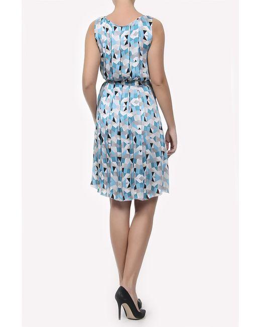 Платье С Поясом L.K. Bennett London                                                                                                              голубой цвет