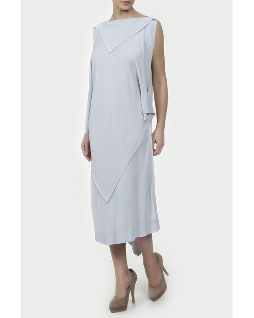Платье Maison Margiela                                                                                                              голубой цвет