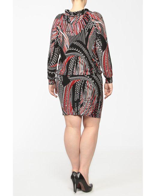 Платье Di TaShe                                                                                                              красный цвет