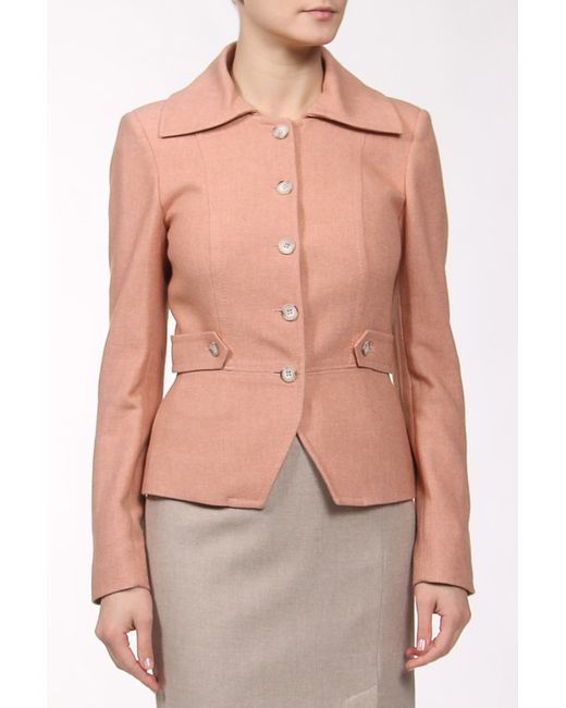 Пиджак Bgn                                                                                                              розовый цвет