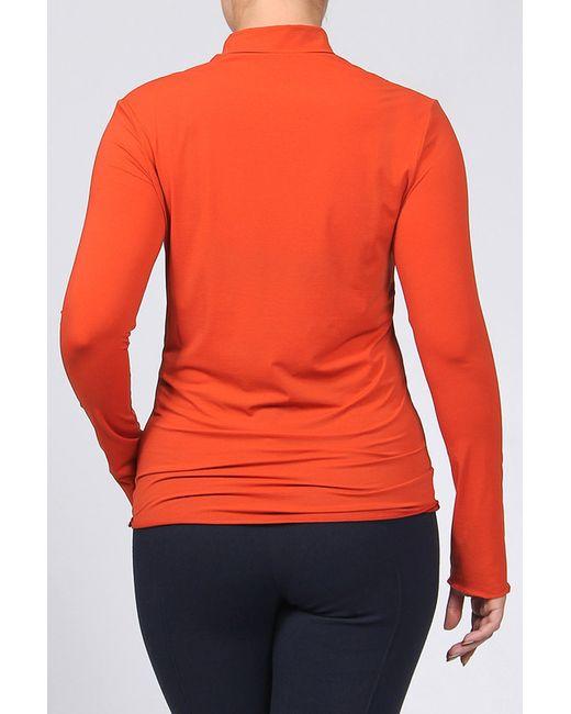 Блуза Bgn                                                                                                              оранжевый цвет