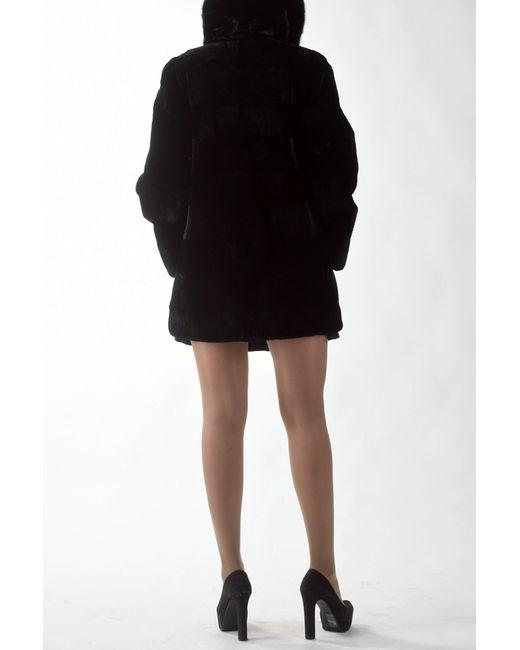 Куртка Меховая фабрика Bagiroff                                                                                                              чёрный цвет