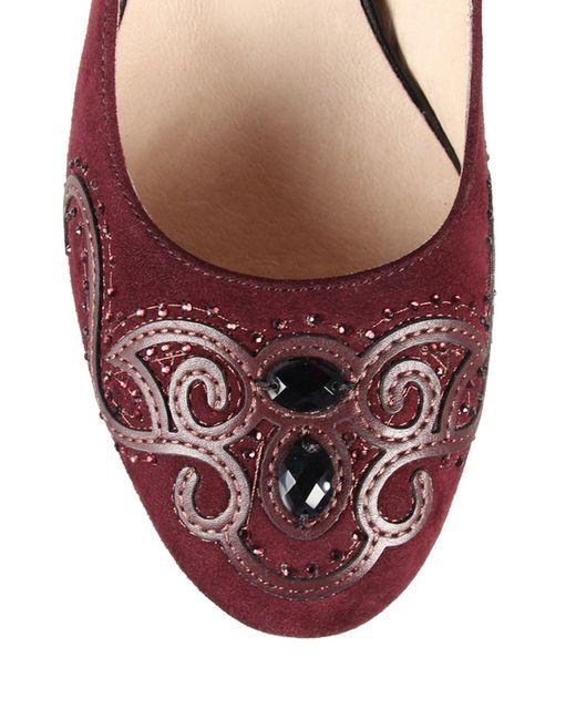 Туфли Marko                                                                                                              красный цвет