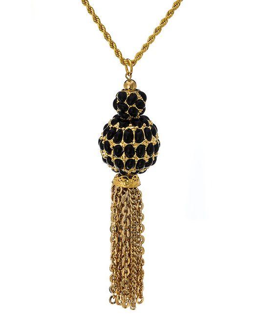Ожерелье Черные Соты Kenneth Jay Lane                                                                                                              многоцветный цвет