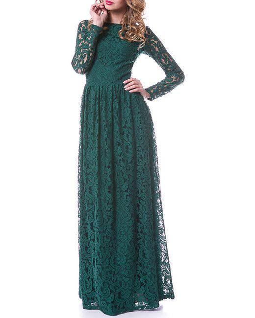 Платье OKS                                                                                                              зелёный цвет