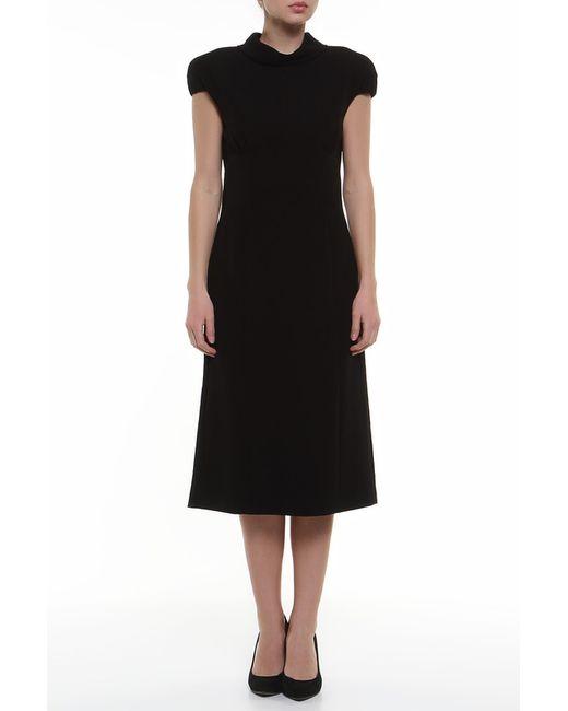 Платье Bottega Veneta                                                                                                              чёрный цвет