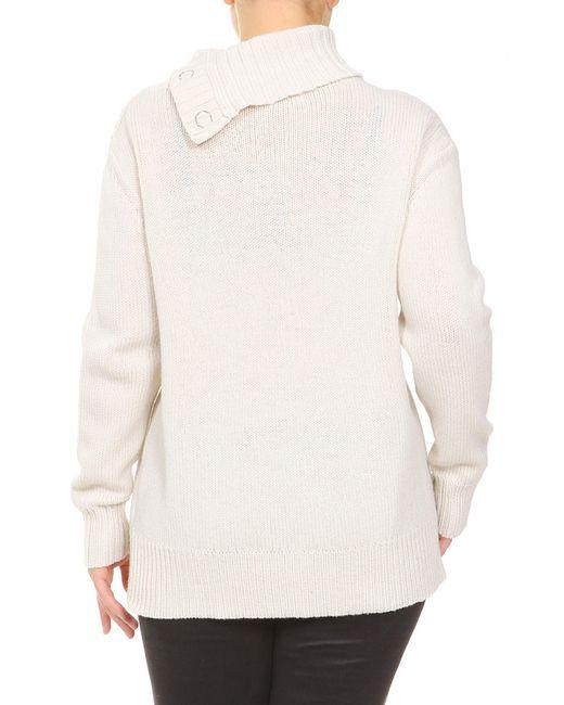 Водолазка Dries Van Noten                                                                                                              белый цвет