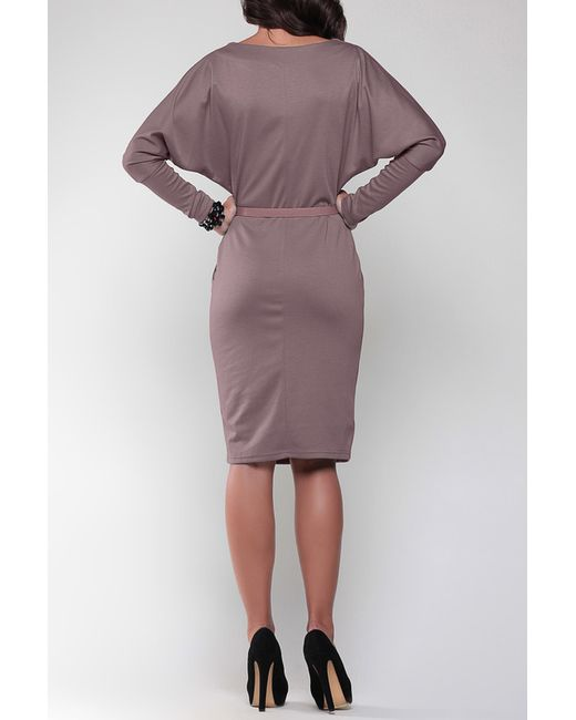 Платье Laura Bettini                                                                                                              коричневый цвет