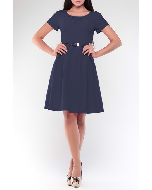 Платье Maurini                                                                                                              синий цвет