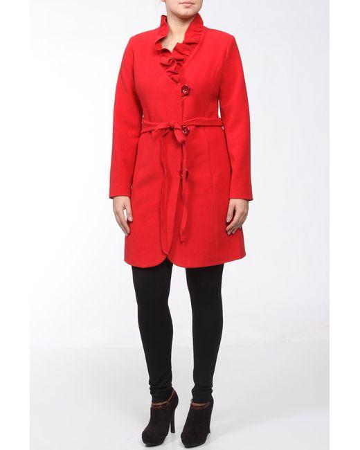 Пальто Фортуна                                                                                                              красный цвет