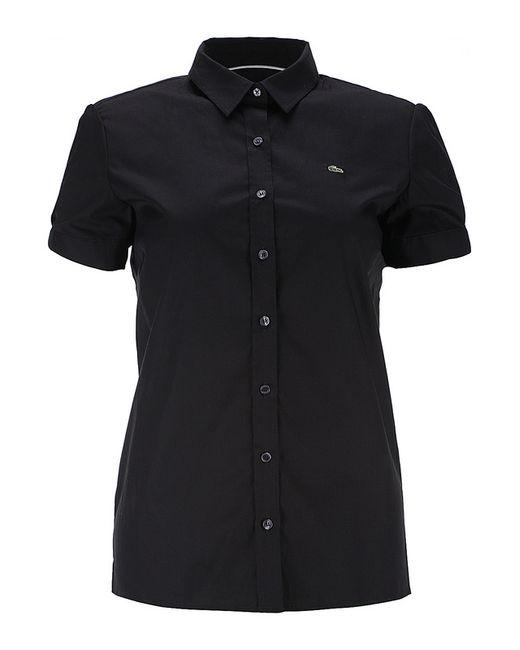 Рубашка Lacoste                                                                                                              чёрный цвет