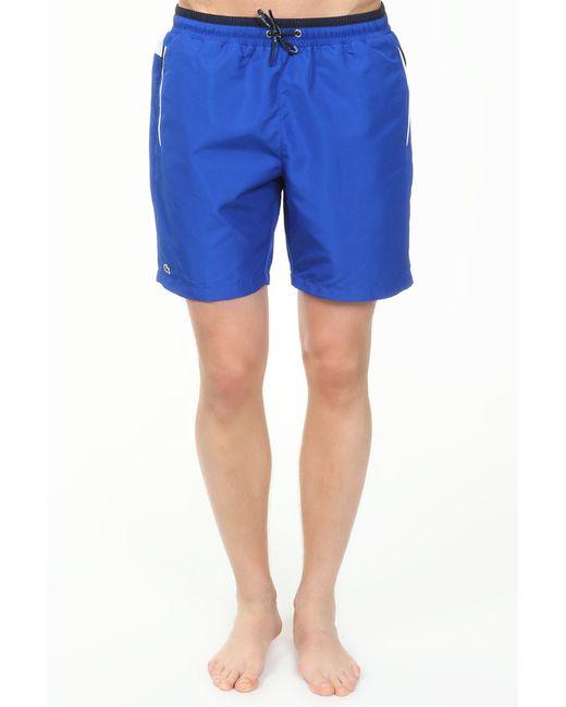 Шорты Lacoste                                                                                                              синий цвет