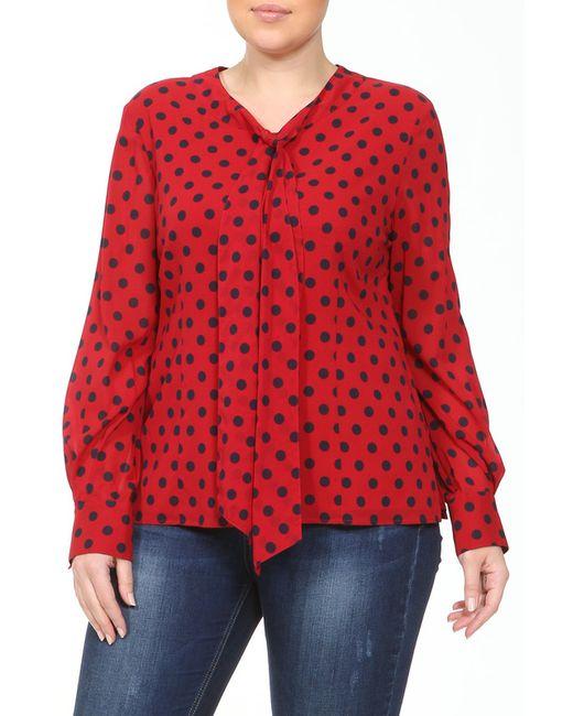 Рубашка St. John                                                                                                              красный цвет
