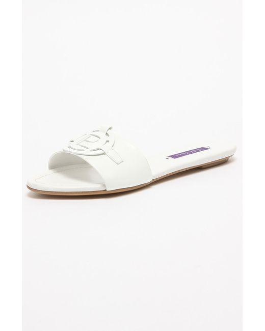 Сандалии Ralph Lauren                                                                                                              белый цвет