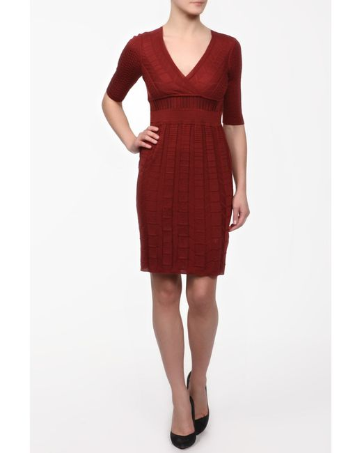 Платье Вязаное Missoni                                                                                                              оранжевый цвет