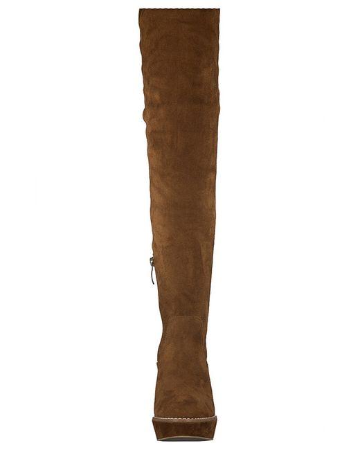 Сапожки Tamaris                                                                                                              коричневый цвет