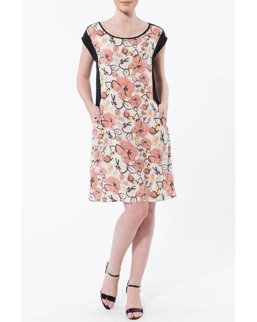 Платье Relax Mode                                                                                                              розовый цвет