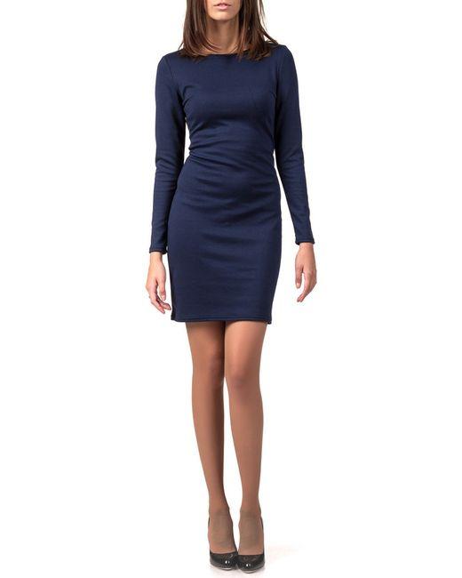 Платье LEYA                                                                                                              синий цвет