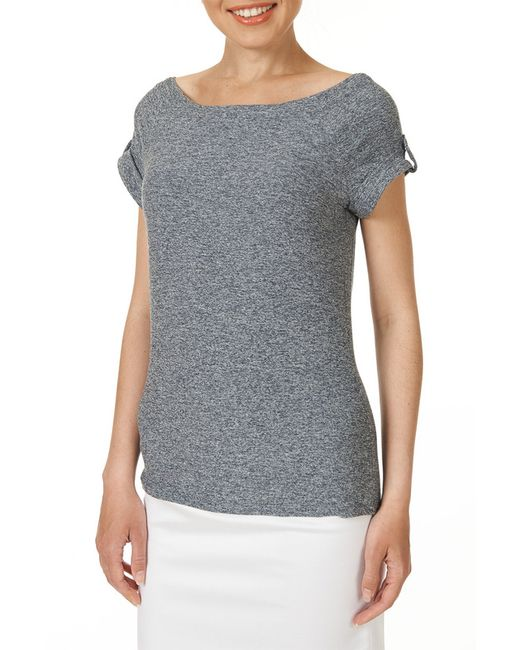 Блузка Argent                                                                                                              серый цвет