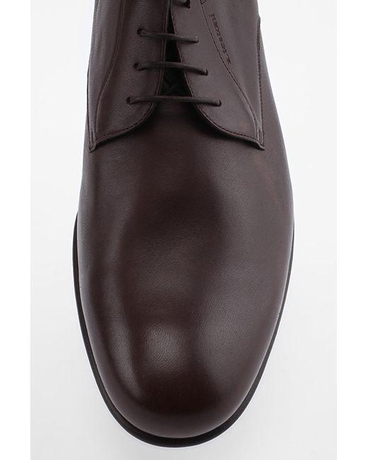 Туфли A. Testoni                                                                                                              коричневый цвет