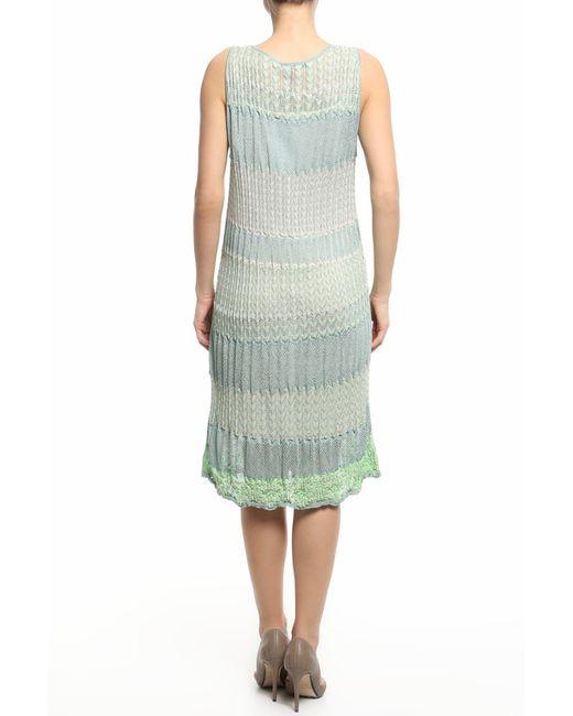 Платье 2 Предм. Blumarine                                                                                                              зелёный цвет