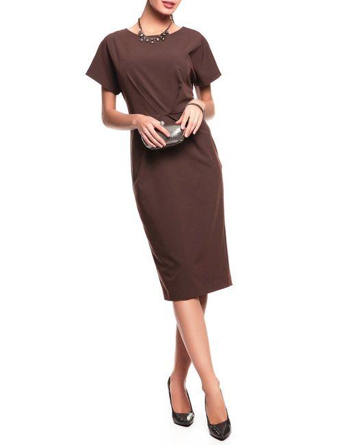 Платье Disetta                                                                                                              коричневый цвет