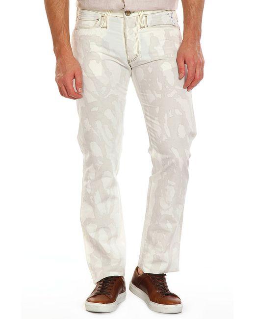 Брюки ARMANI JEANS                                                                                                              белый цвет