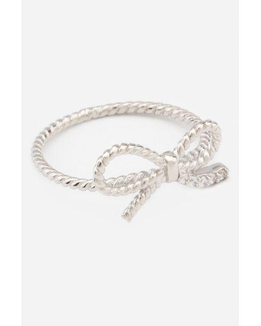 Кольцо Alibi Jewels                                                                                                              белый цвет
