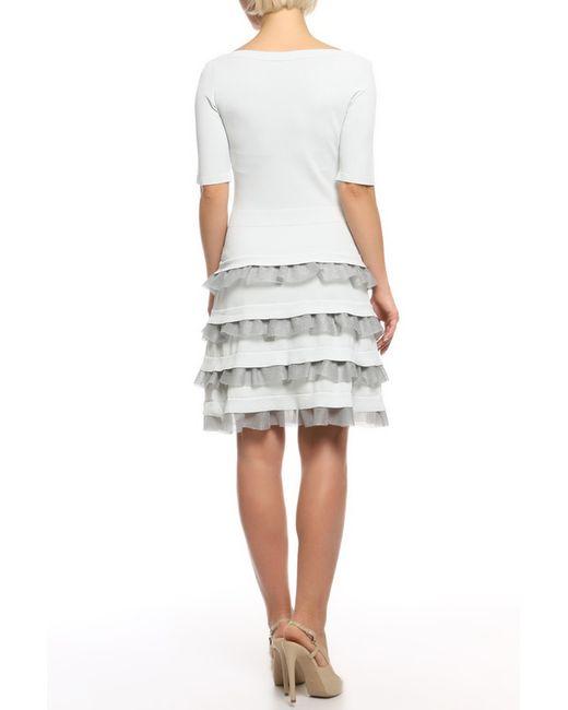 Платье D.exterior                                                                                                              серый цвет