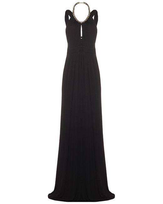 Платье ROBERTO CAVALLI PRECOLLECTION                                                                                                              чёрный цвет