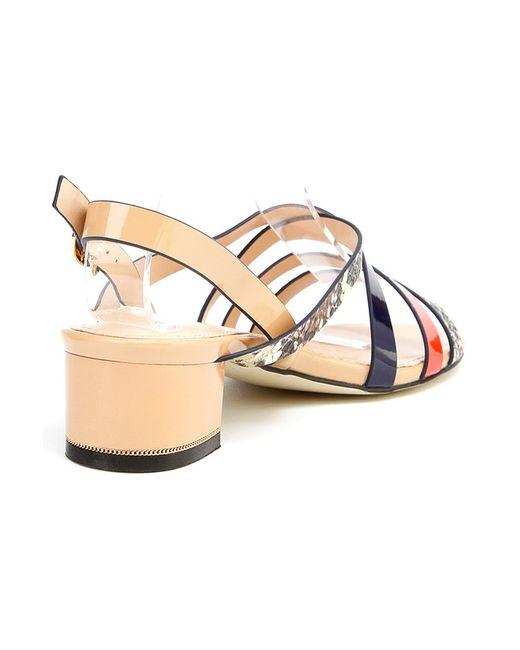 Туфли Летние Открытые Ridlstep                                                                                                              оранжевый цвет