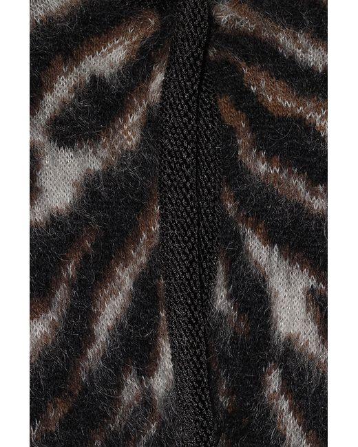 Пончо Roberto Cavalli                                                                                                              коричневый цвет