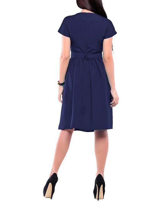 Платье REBECCA TATTI                                                                                                              синий цвет