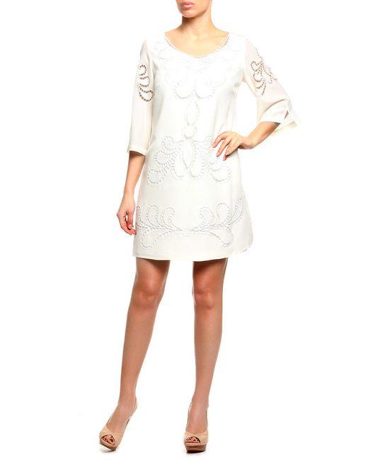 Платье Paolo Petrone                                                                                                              бежевый цвет