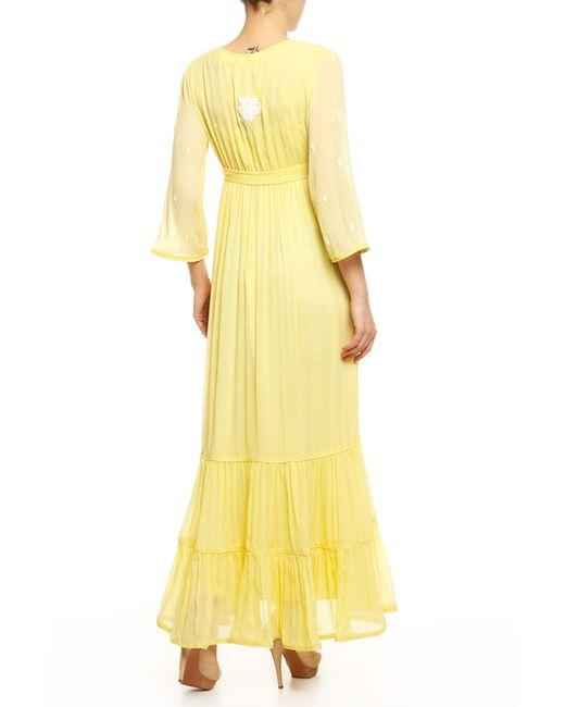 Платье 2 Предмета Пояс LEAVES OF GRASS                                                                                                              желтый цвет