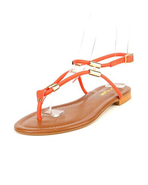 Туфли Летние Открытые Alba                                                                                                              красный цвет
