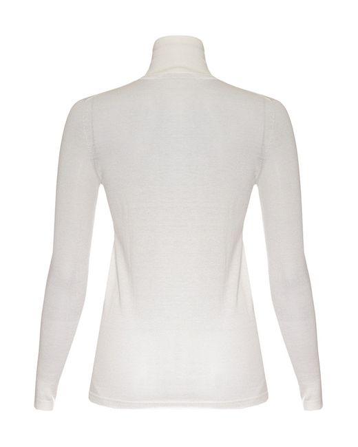 Джемпер Agnona                                                                                                              белый цвет